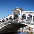 Rialto Bridge. Venice - Stock Photo