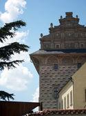 Schwarzenberg Palace built in 1567 year, Prague — Stock Photo