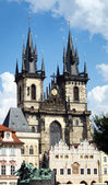Church of Our Lady before Tyn, Prague — Stock Photo