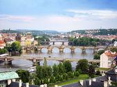 Bridges of Prague — Stock Photo
