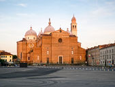 Basilica di S. Giustina, Padua, Italy — Stock Photo