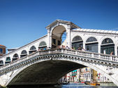 Rialto Bridge. Venice — Stock Photo