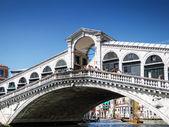 Rialto Bridge. Venice — Stock Photo