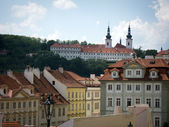 Strahov Monastery founded in 1149,Prague — Stockfoto