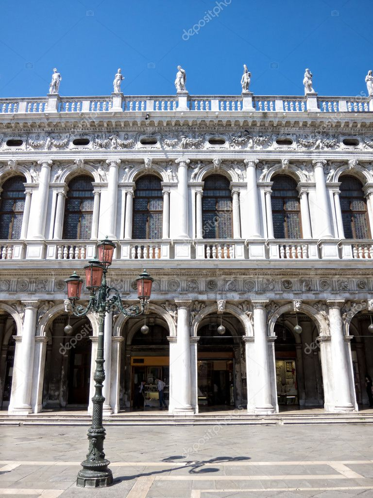 St. Mark's square in Venice — Stock Photo #9845214