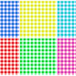 Plaid Patterns Illustration — Stock Vector #10017175