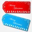 Christmas Sale Tags — Stock Vector #10017274