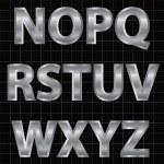 Silver Alphabet Set — Stock Vector #10017376