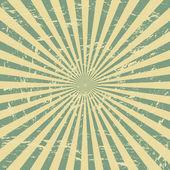 Colorful Sunburst Background — Stock Vector