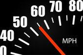 Ilustracja prędkościomierza — Wektor stockowy