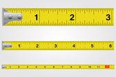 Tape Measure Illustration — Stock Vector