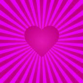 Valentijn achtergrond afbeelding — Stockvector