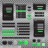 Web Design Template — Stock Vector