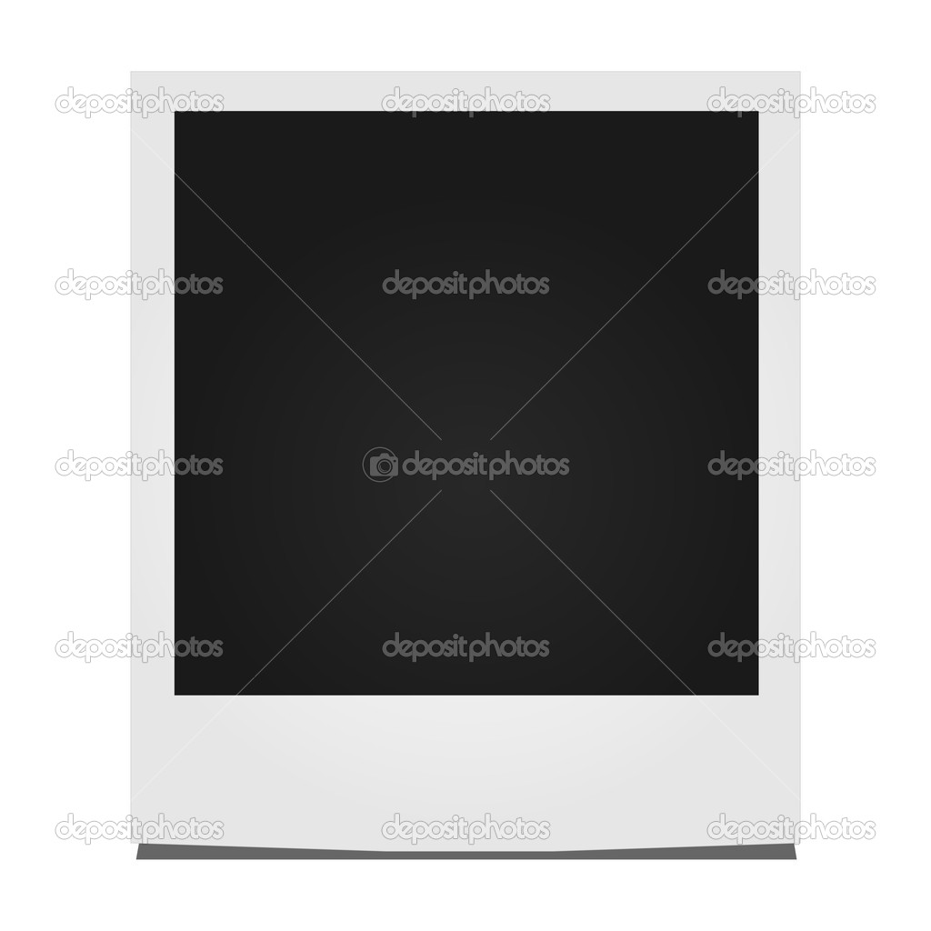 Instant Photo Illustration — Stock Vector #9855228