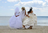 """Annual event """" First Bride Parade"""" — Stock Photo"""