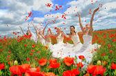 "Annual event "" Bride Parade"". — Stock Photo"
