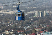 Cable Car to Kok Tobe Hill — Stock Photo