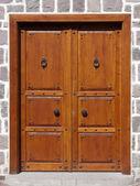 Traditional Door — Stock Photo