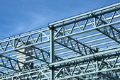 Steel Construction Frame — Stock Photo