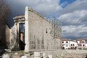 Monumentum Ancyranum - Augustus Temple — Stock Photo