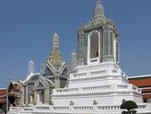 Pagode al tempio del buddha di smeraldo — Foto Stock