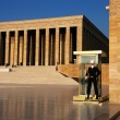 Guarding Anıtkabir (Mausoleum of Ataturk) — Stock Photo