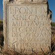 Ancient Roman Writing on Tablet — Stock Photo #9794472