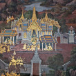 Stock Photo: Thai Wall Painting