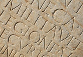 Roman Writing as Background — Stock Photo