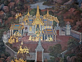 Thai Wall Painting — Stock Photo