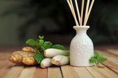 Lemongrass Essential Oil — Stock Photo
