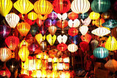 Asian Silk Lanterns — Stock Photo