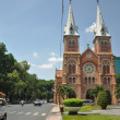 Saigon Notre-Dame Basilica, Vietnam — Stock Photo