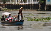 Boat trip on the Mekong, Vietnam — Stock Photo