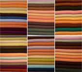 Color fabrics — Stock Photo