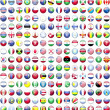 Flags of the world's countries — Stock Photo