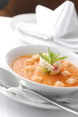 Gazpacho soup — Stock Photo
