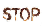 STOP smoking — Stock Photo