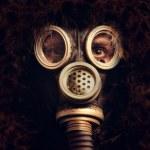Man in respirator — Stock Photo #10016389