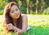 Mujer asiática — Foto de Stock