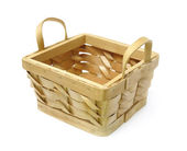 Basket isolated — Stock Photo