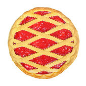 Pie with berry — Stock Photo