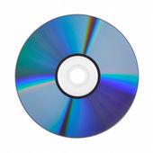 Dvd-skiva isolerad på vit bakgrund — Stockfoto