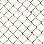 Old lattice isolated on white — Stock Photo