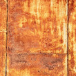 Stock Photo: Rust panel as texture