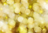 Yellow glittery Christmas background — Stok fotoğraf