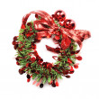 Christmas wreath — Stock Photo #10130423