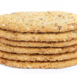 Foto Stock: Oval-shaped cookies