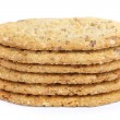 Foto de Stock  : Oval-shaped cookies