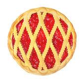 Pie with berry — Stock Photo